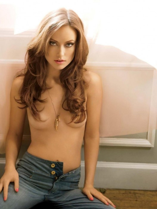Olivia Wilde Naked for Maxim