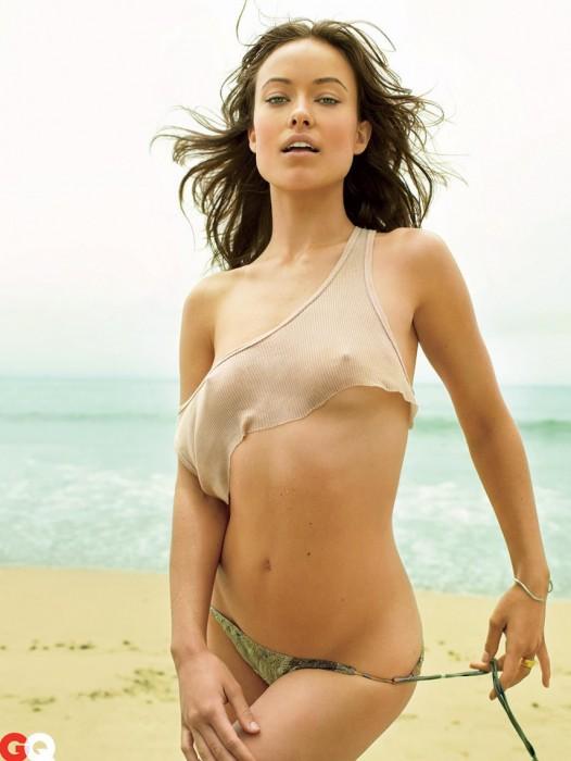 Olivia Wilde hard nipples