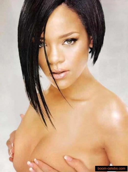 Rihanna nip slips