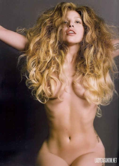 Sexy Lady Gaga Nude