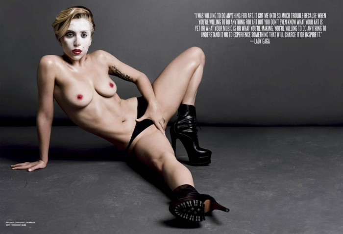 Sexy Lady Gaga Nude Photo
