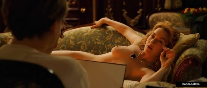 Titanic Kate Winslet posing nude