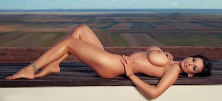 Adina Barbu Naked for Playboy (10 Photos)