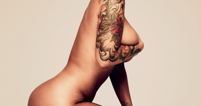 Amber Rose Topless (11 Photos)
