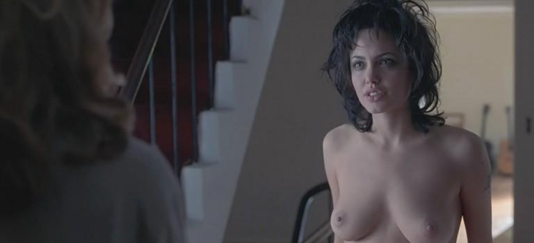 "Angelina Jolie Naked Scenes ""Gia"" 1998 (16 Pics)"
