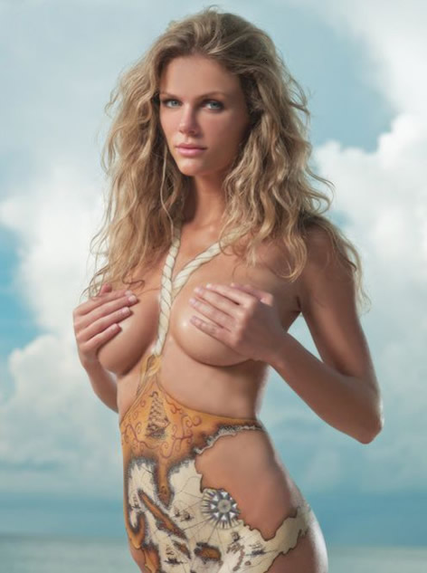 brooklyn-decker-body-art