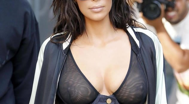 Kim Kardashian See Through (10 Photos)