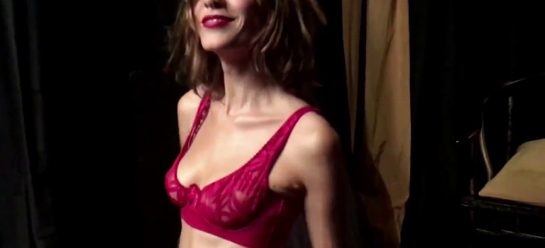 Alexa Chung by Liz Collins – LOVE Advent 2016 Day 17 (Hot Video)