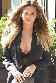 Hot Chrissy Teigen Cleavage Photo