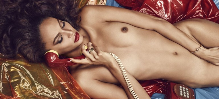 Joan Smalls Naked and Topless (8 Photos)