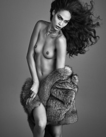 Joan Smalls Topless Photoshoot