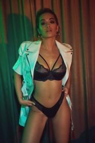 Rita Ora in sexy lingerie photo