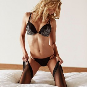 Stella Maxwell in hot lingerie