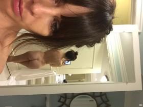 Hot Natasha Leggero Naked Selfie