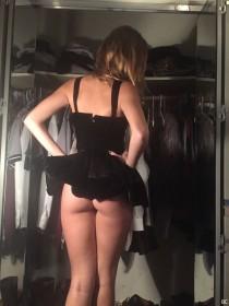 Lili Simmons in mini dress photo