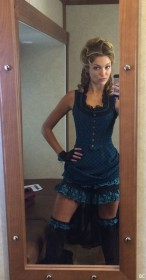 Lili Simmons in sexy dress leaked photo