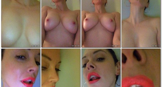 Rose McGowan All Leaked Private Videos (14 Videos)