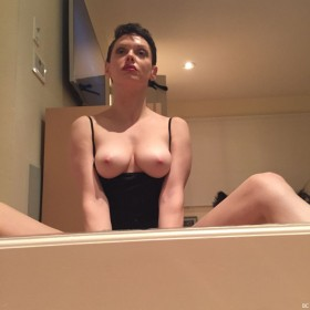 Rose McGowan Topless Photo