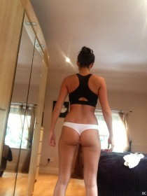 Sophie Gradon Sexy Ass Leaked Photo