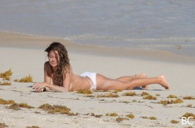 Brooke Burke Bikini Candids
