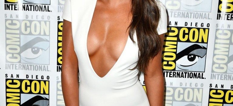 Lea Michele Cleavage (12 Photos)