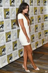 Hot Lea Michele in sexy dress