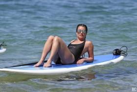 Hot Lea Michele in swimsuit
