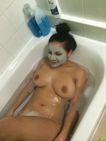 Lacey Banghard Naked Home Photo