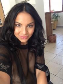 Lacey Banghard See Through Leaked Selfie