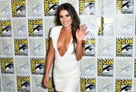 Lea Michele Cleavage 4