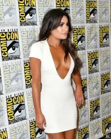 Lea Michele Cleavage Pic