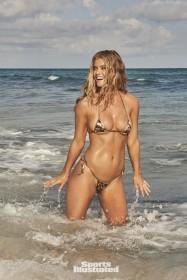 Nina Agdal in mini bikini