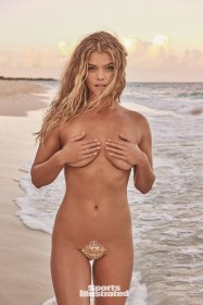 Nina Agdal topless 2017