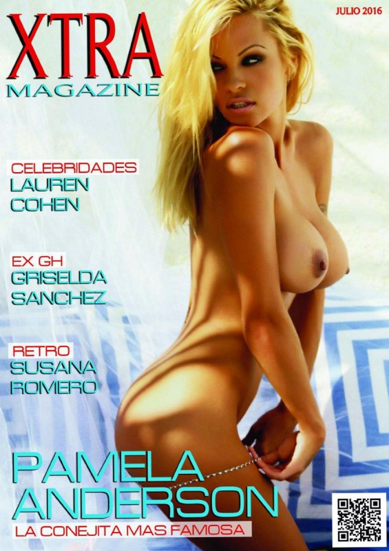 Pamela Anderson Naked for Xtra Magazine 2016