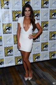Sexy Lea Michele in sexy dress