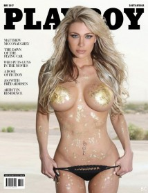 Dalia Elliott Topless for Playboy