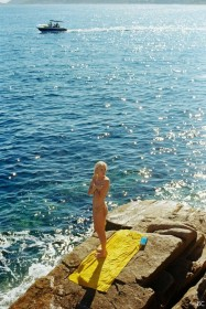 Hot Julia Almendra Topless