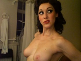 Michelle Antrobus Topless Private Photo