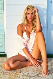 Ria Antoniou in bikini