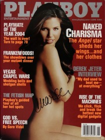 Charisma Carpenter Naked for Playboy