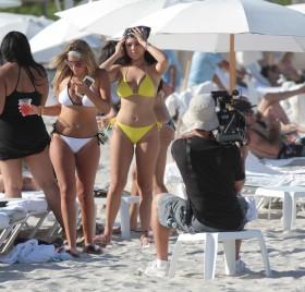 Hot Karina Seabrook in bikini