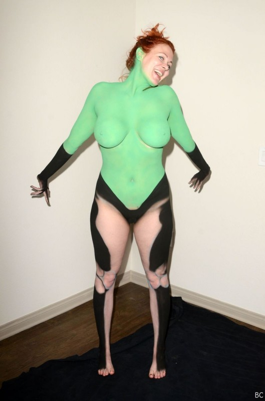 Hot Maitland Ward Bodypaint