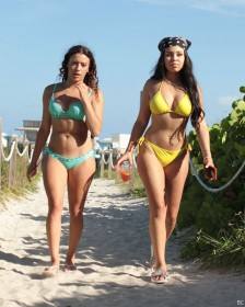 Karina Seabrook in hot bikini