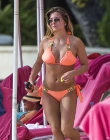 Zara Holland Bikini Photo