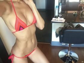 Tika Camaj in bikini photo