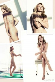 Carly Booth Naked Photoshoot