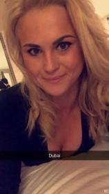 Carly Booth in Dubai