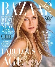 Jennifer Aniston Sexy for BAZAAR