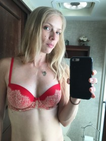 Chelsea Teel in sexy lingerie