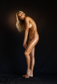 Sexy Jesse Golden Naked